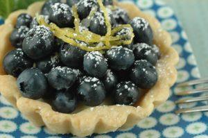 Rice, lemon blueberry tarts, saffron aioli 097