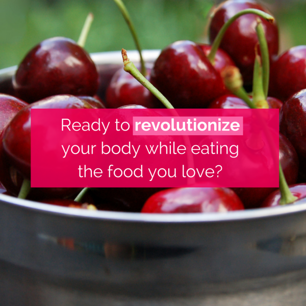 Are you ready to revolutionize your body?